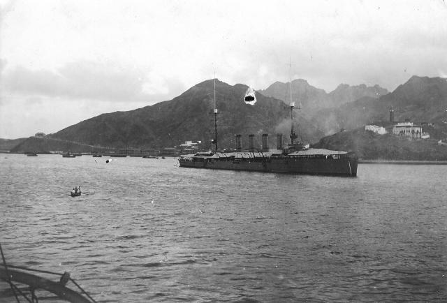 108 Schiff Taranto [ehemals SMS Straßburg] (vorderseite)